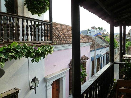 Makako Chill Out Hostel: super colonial, el balcon del hostel