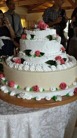 Borgo Spoltino: torta nuziale
