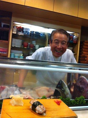 Sushiryori Inose: The world's happiest sushi chef.