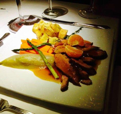 The Wine Cellar: Duck in Gran Marnier!