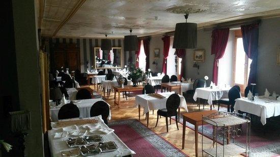 Gd Hotel Bella Tola & St-Luc: Salle à manger