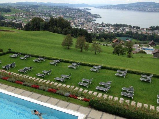 Panorama Resort & Spa: Blick aus unserem Zimmer