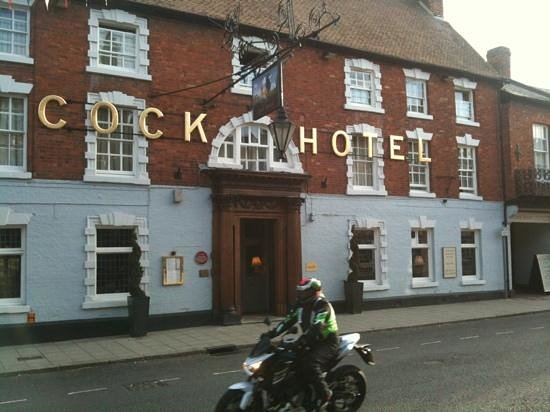 The Cock Hotel: Exterior