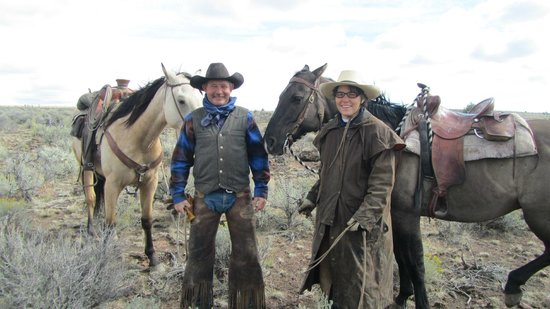 Steens Mountain Guest Ranch: Our hosts, Tim & Susan O'Crowley