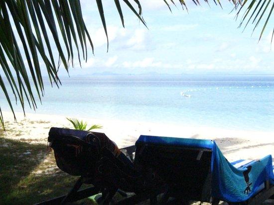 Celebes Beach Resort : La spiaggia
