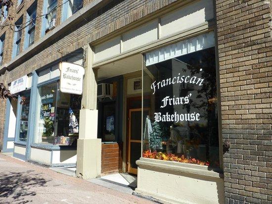 Friars' Bakehouse : Friar's Bakehouse: Exterior