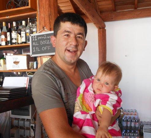 Saray Hotel: Michael + my grandaughter