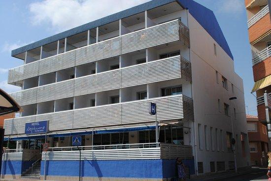 Hotel Neptuno: Fachada
