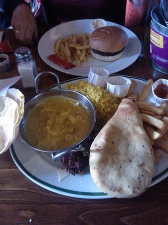 Hungry Horse - The Turf Tavern: Big Bombay Banquet