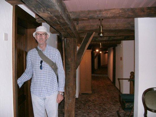 Hotel Rheinfels: Entering our room