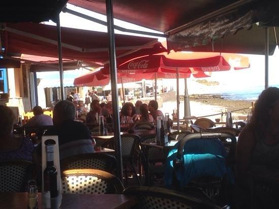Avenida Del Mar: vistas del restaurante