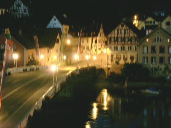 Hotel Rheinfels: View as we prepare to depart back to the train station by foot