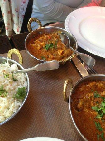 Jaipur: curry crevettes