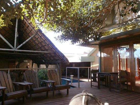 Fig Tree Guesthouse: Terrasse