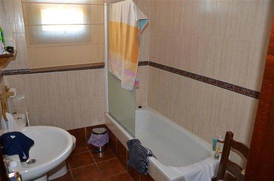 Hotel Carlos Astorga : Salle de bains