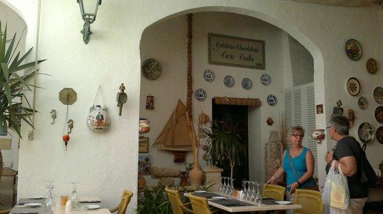 Can Costa Alcudia: un angolo del cortile
