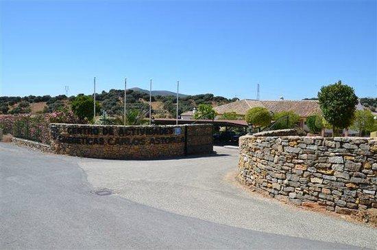 Hotel Carlos Astorga: Entrée de la propriété Carlos Astorga