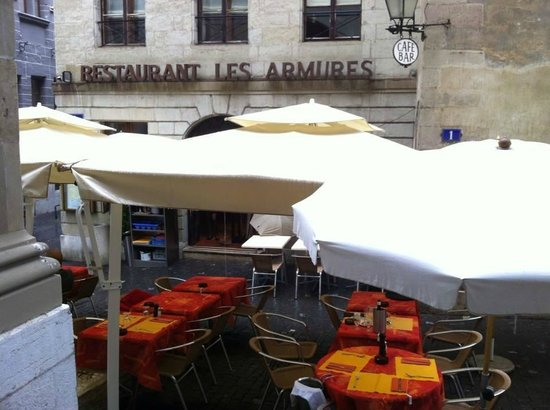 Les Armures, Old Town Geneve