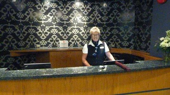 Norwood Hotel : Norwood reception desk
