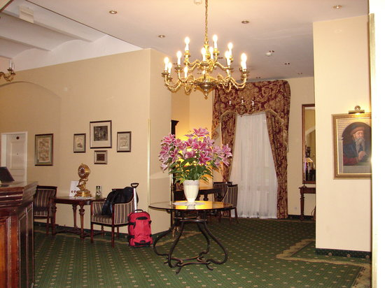 Hotel Gutenbergs: Hotel Lobby