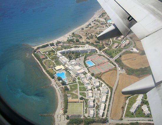Vista aerea dei villaggi gruppo lakitira e spiagge annesse for Kos villaggi italiani