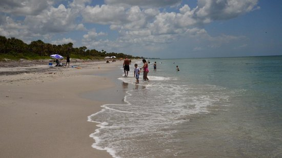 Caspersen Beach: Not overcrowded
