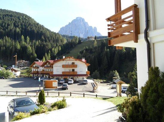 ArtHotel Anterleghes: View of Sassolungo