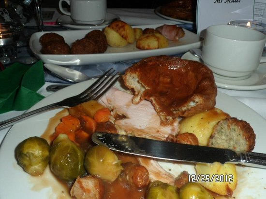 Holiday Inn Wakefield M1, Jct. 40: Our Christmas Dinner