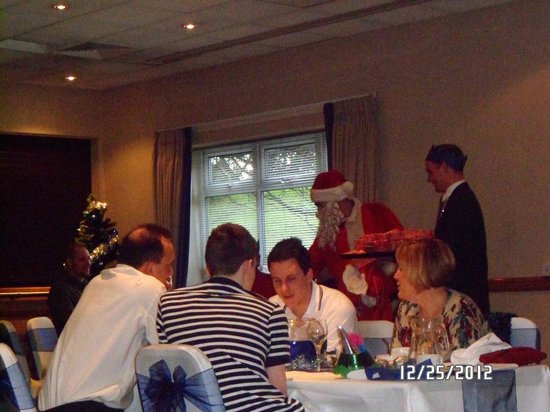 Holiday Inn Wakefield M1, Jct. 40: Santa's visit