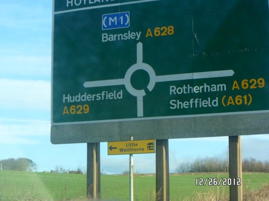 Holiday Inn Wakefield M1, Jct. 40: Journeying