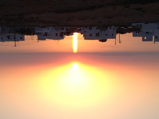 Aeolos Mykonos Hotel: Another beautiful sunset