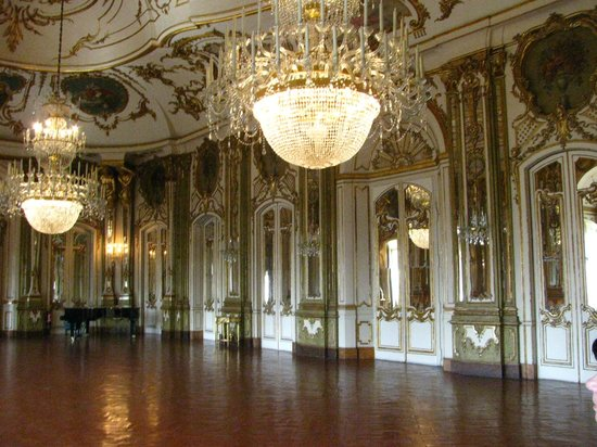 National Palace of Queluz: Mirror room