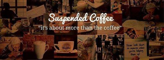 The Rusty Bucket Coffee Shop: Suspended Coffee No.1