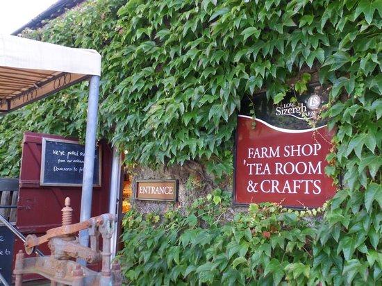 Low Sizergh Barn Tea Room: sizergh barn & farmshop