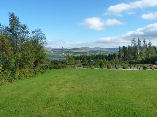 Eas Dun Lodge : View from the outdoor patio area