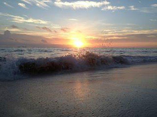 Grand Bahia Principe Bavaro : levé du soleil