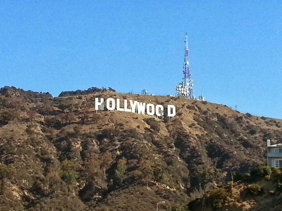 Lake Hollywood Park : Excellent viewing and photo spot