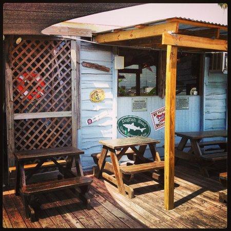 Cajun Cafe On the Bayou: Entrance