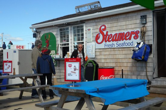 Steamers boat house