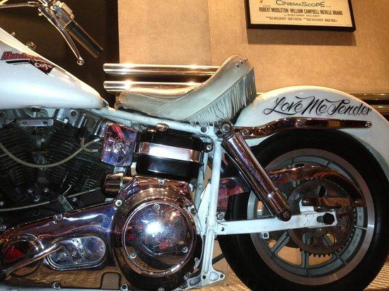 Harley Davidson Las Vegas Cafe: Moto da decoração