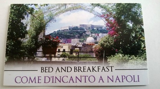Come d'incanto a Napoli: Carte
