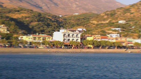 Livikon Beach Hotel: Livikon from the harbour
