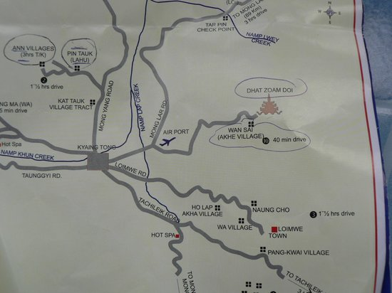 Hill Tribe Village : Los poblados que visitamos