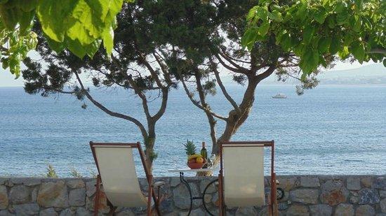 Paraktio Beach Apartments: Studios sea view veranda