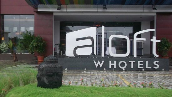 Aloft Ahmedabad SG Road : front