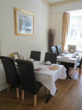 Chester House Guest House : Breakfast Room