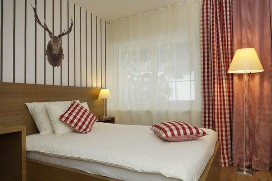 Hotel Lenzerhorn Spa & Wellness: Premium Doppelzimmer