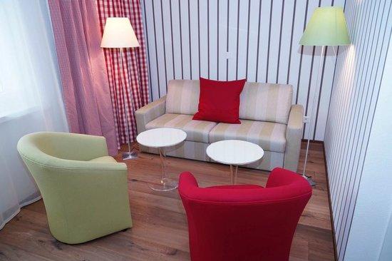 Hotel Lenzerhorn Spa & Wellness: Deluxe Doppelzimmer