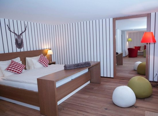 Hotel Lenzerhorn Spa & Wellness: Family Deluxe Zimmer