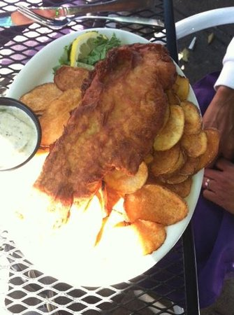 Ithaca Ale House: Fish & Chips